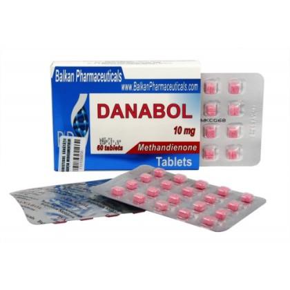 Danabol BP 10mg (100 com)