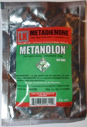 Metanolon 5mg (100 com)