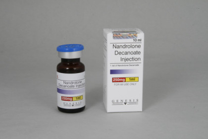 Nandrolone decanoate Genesis 250mg/ml (10ml)
