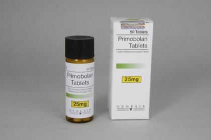 Primobolan comprimés 25mg (50 com)